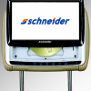 Schneider 9 Inch Slide-Up Headrest DVD Player