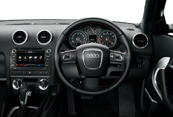 Opal - In-dash Navigation system to suit: Audi A3