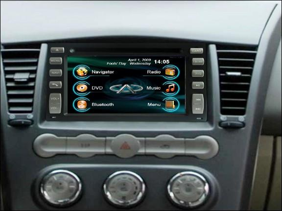 Opal - In-dash Navigation system to suit: Cherry J3