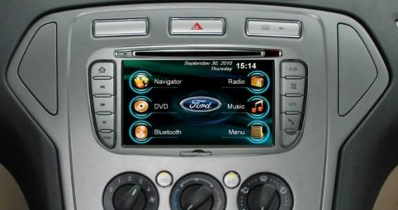 Opal - In-dash Navigation system to suit: Ford Mondeo