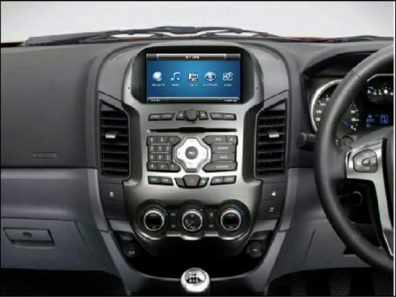 Opal - In-dash Navigation system to suit: Ford Ranger