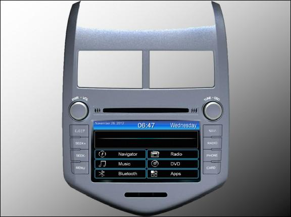 Opal - In-dash Navigation system to suit: Holden Barina