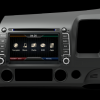 Opal - In-dash Navigation system to suit: Honda Civic