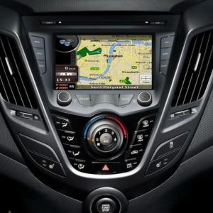 Opal - In-dash Navigation system to suit: Hyundai Veloster