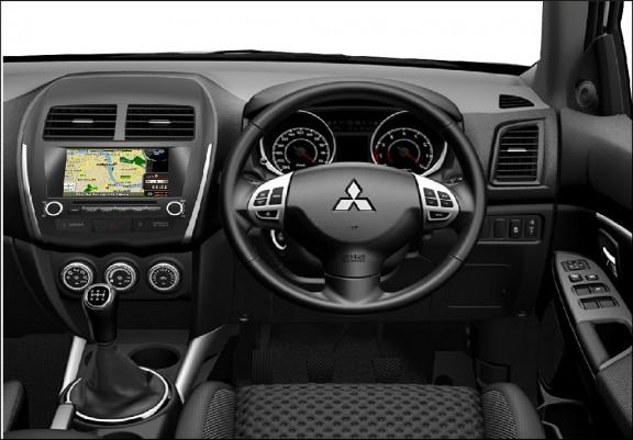 Opal - In-dash Navigation system to suit: Mitsubishi ASX