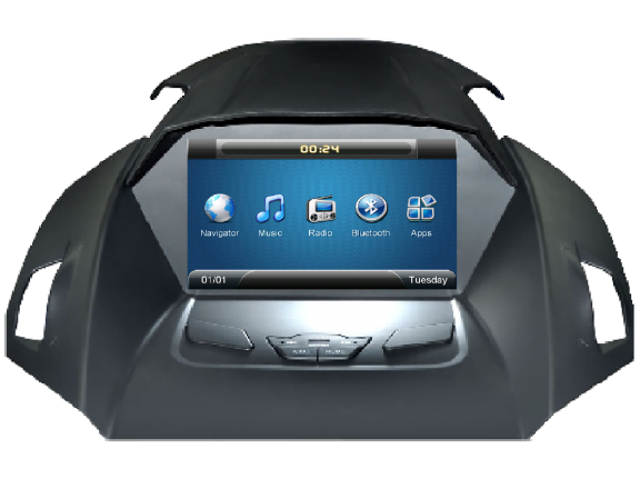 Opal - In-dash Navigation system to suit: Ford Kuga