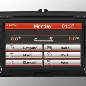 Opal - In-dash Navigation system to suit: Volkswagen Scirocco / Polo / Passat / Eos / Caddy / Amarok / Jetta / Gol / Tiguan / The Beetle