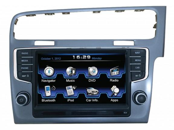 Opal - In-dash Navigation system to suit: Volkswagen Golf 7