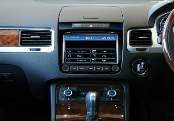 Opal - In-dash Navigation system to suit: Volkswagen Touareg