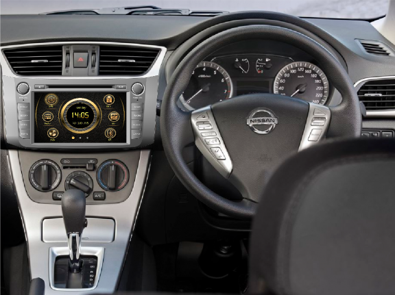 Opal - In-dash Navigation system to suit: Nissan Pulsar