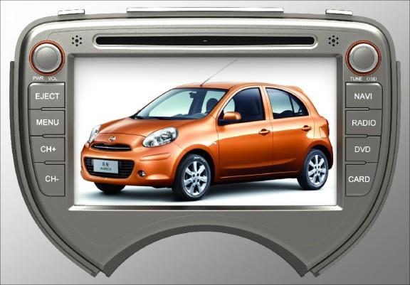 Opal - In-dash Navigation system to suit: Nissan Micra