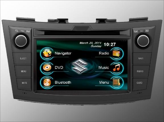 Opal - In-dash Navigation system to suit: Suzuki Swift