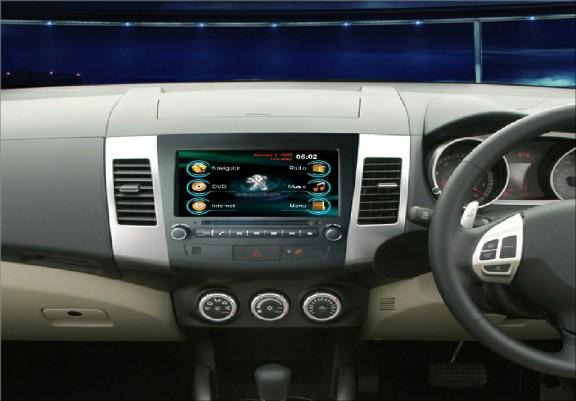 Opal - In-dash Navigation system to suit: Peugeot 4007