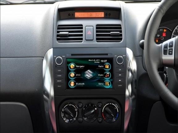 Opal - In-dash Navigation system to suit: Suzuki SX4
