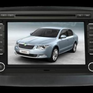 Opal - In-dash Navigation system to suit: Skoda Superb